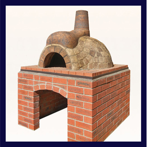Pizza Oven - Brown L