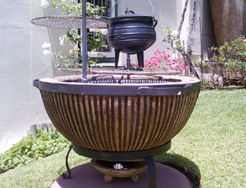 Boma Fire-Pit With Accessories