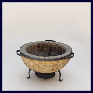 Boma Fire Pit 1100 Mosaic NO Accessories.